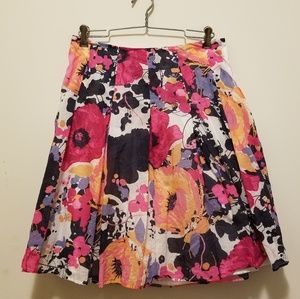 New York & Company Floral Skirt
